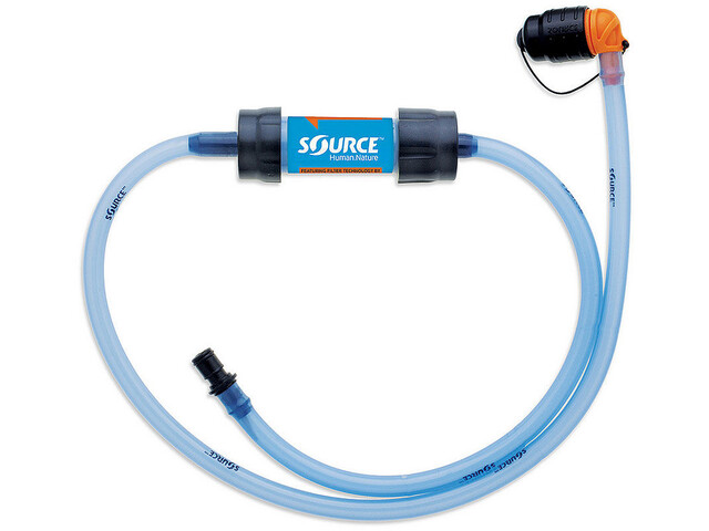SOURCE Drinking Kit Tubo + Filtro, blue